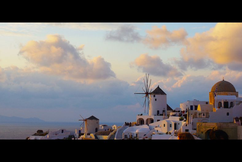Santorini Sky