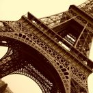 Eiffel from the side