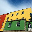 Colored facades