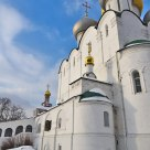 Smolenskiy cathedral orthodox temple