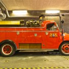 Old fashioned firetruck