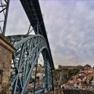 Eifell Bridge in Porto
