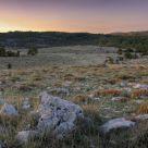 Levant d'automne sur le plateau