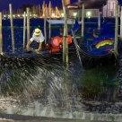 Marée et gondoliers