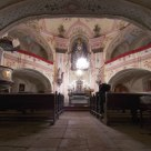 Sv. Anna - interior, Pohled