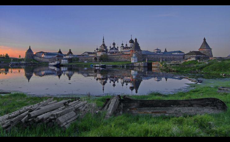 Russia, Solovki, Arkhangelsk region.