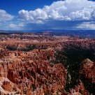 Rain Coming to Bryce Canyon