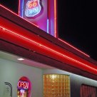 Neon nights on Route 66