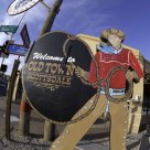 Cowboy welcome to Scottsdale