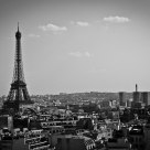 Tour Eiffel in Black&White