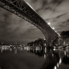 Aurora Bridge and Reflection