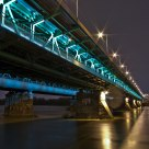 Illuminated bridge