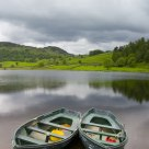 Two boats at Watendlath, Lake District