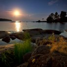 Valaam Islands Sunset