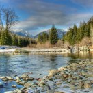 Winter at Methow River