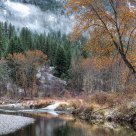 Fall on the San Poil River