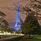 Tour Eiffel la nuit