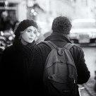 Conversation à la sortie de la Sorbonne