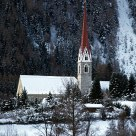 Little church in South Tyrol