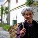 A tibet woman