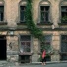 Girl in a street