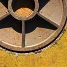 Yellow and rust