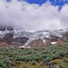 Andes Mountain Glacier