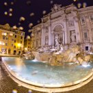 Fontana di Trevi in the Rain