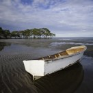 Boat on a low tide