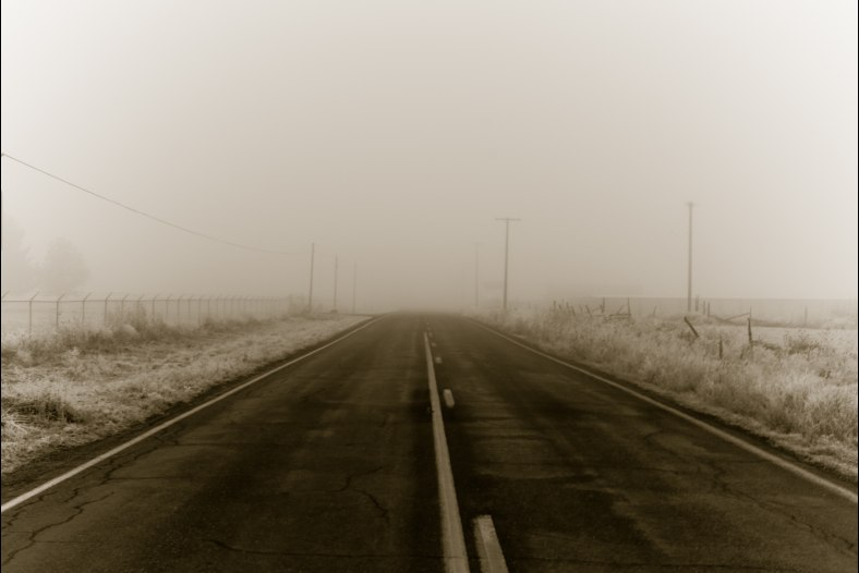 Foggy road to........