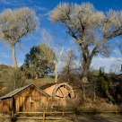 Mill Wheel at Crescent Moon Ranch