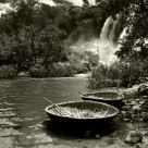 Coracle and the Waterfall