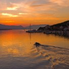 Sunrise in Trogir