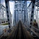 The bridge over the Irtysh River