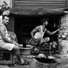 Labourers Making Tea