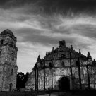 Fiery Cloud Over Paoay Church