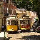 Lisbon historical tram