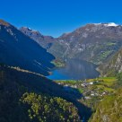 View of Geiranger / Norway
