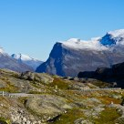 The way down to Geiranger / Norway