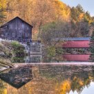 McConnels Mill and Covered Bridge.