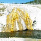 Sulphur Flow at Yellowstone