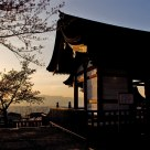 Sunset at Kyomizu Temple