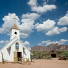 Apache trail museum church