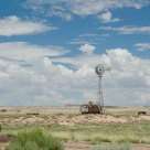Petrified windmill