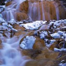 Stream in winter