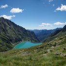 Lago di Teleccio e rifugio Pontese