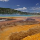 Midway Geyser Basin in Yellowstone National Park