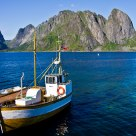 Fishing boat in Lofoten / Norway