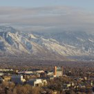 University of Utah Campus Bathed in the Late Afternoon Sun