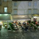 Cafe, night, Croatia